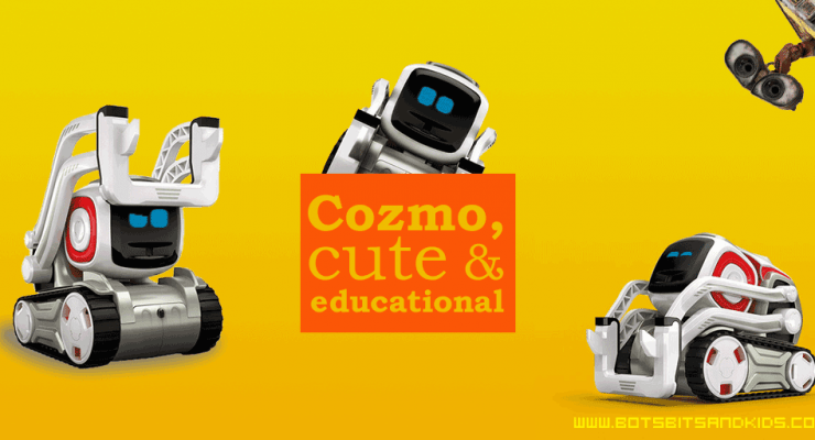 Cozmo by Anki, cute and educational robot