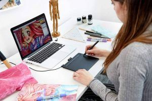 Graphic tablet Wacom for kids | STEAM Art toys