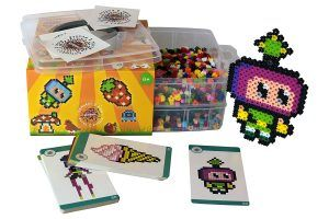 Simbrix beans Geek Kit with Beads , no pegboard or iron required