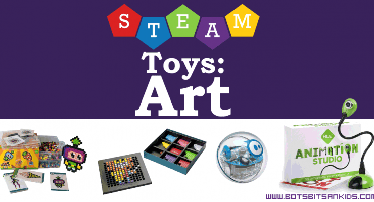 Awesome STEAM Toys: Art & Creativity