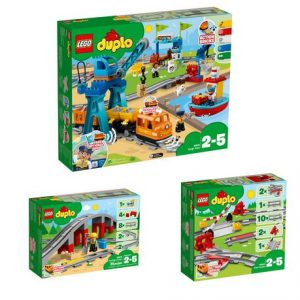 Lego Duplo Cargo Train Bundle - More fun and tracks options