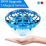 Hand operated drone for kids and toddlers - Flying toys for girls and boys