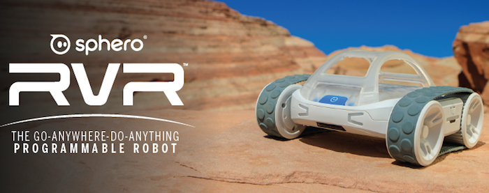 Sphero RVR - Programmable coding robot for kids, hackers and makers - Raspberry Pi, microbit and Arduino robot