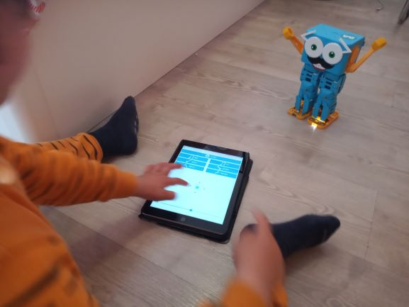 Marty the robot App and remote control