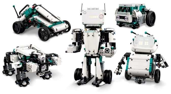 Lego Mindstorms Robot Inventor - Programmable with Scratch and Python